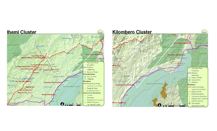 Ihemi Kilombero Cluster Map Transparent
