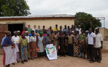 Community engagement on ecosystem services maps in Pwalugu