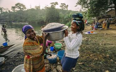 Abume is one of the communities by the Volta Lake. They are predominantly fisher folk.
