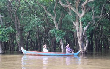 Flooded forest is life for Kampong Phluk community fishersies
