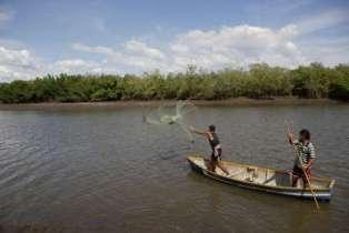 Fisherman in El Salvador
