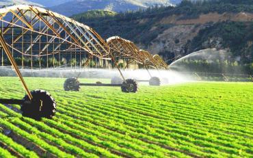 modern irrigation system